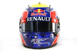 Mark Webber, Red Bull Racing , kask