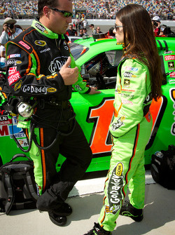 Greg Zipadelli and Danica Patrick, Stewart-Haas Racing Chevrolet