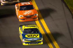 Matt Kenseth, Roush Fenway Racing Ford and Joey Logano, Joe Gibbs Racing Toyota
