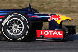 Red Bull front wing and nose cone