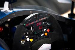 Steering wheel for Josef Newgarden, Sarah Fisher Hartman Racing Honda