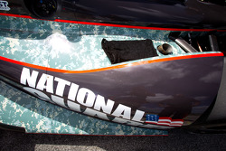Bodywork on the car of J.R. Hildebrand, Panther Racing Chevrolet