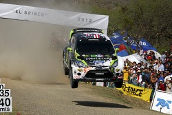 Ken Block and Alex Gelsomino, Ford Fiesta RS WRC