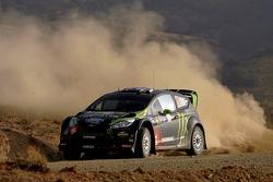 Chris Atkinson and Stéphane Prévot, Ford Fiesta RS WRC