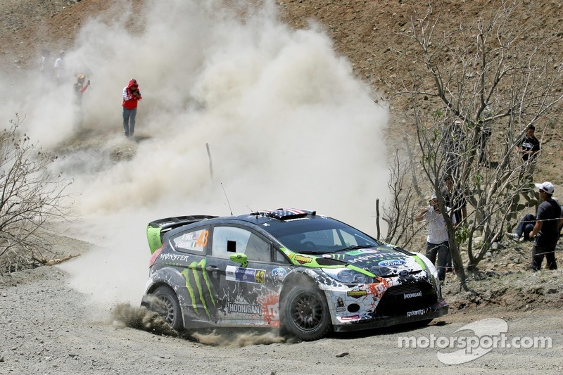 Ken Block en Alex Gelsomino, Ford Fiesta RS WRC