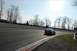 Yvan Muller, Chevrolet Cruze 1.6T, Chevrolet race winner and Robert Huff, Chevrolet Cruze 1.6T, Chevrolet 2nd position