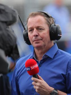 Martin Brundle, SKY Sports