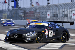 #54 Black Swan Racing Mercedes AMG GT3: Tim Pappas