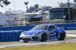 #35 CJ Wilson Racing Porsche Cayman GT4: Russell Ward, Damien Faulkner