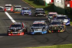 Scott Pye, Holden Racing Team, Todd Kelly, Nissan Motorsports, David Reynolds, Erebus Motorsport Holden