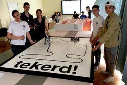 Hungaroring építése LEGO-ból