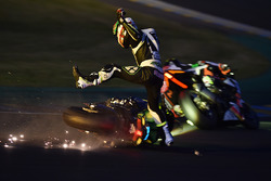 #35 Yamaha: Maxime Diard crash