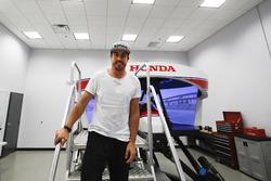Preparativos de Fernando Alonso para a Indy 500