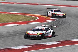 #911 Porsche Team North America Porsche 911 RSR: Patrick Pilet, Dirk Werner, #912 Porsche Team North America Porsche 911 RSR: Wolf Henzler, Laurens Vanthoor