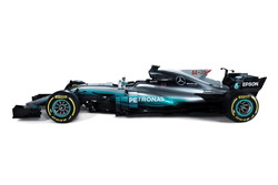 Neues Design am Mercedes F1 W08