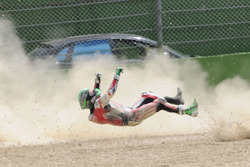 Авария Юджина Лаверти, Milwaukee Aprilia World Superbike Team