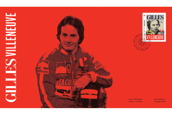 Canada Post's Formula One stamps