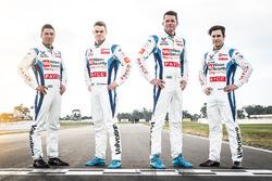 Garth Tander, James Goldwin, James Moffat, Richard Muscat, Garry Rogers Motorsport