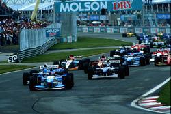 Start: Michael Schumacher, Benetton B195 leads