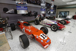 A.J. Foyt display at the IMS museum