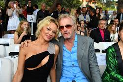 Pamela Anderson, and Eddie Irvine