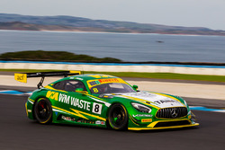 #8 Mercedes AMG GT3: Max Twigg; Tony D'Alberto