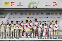 Подиум: победители №29 Audi Sport Team Land-Motorsport, Audi R8 LMS: Кристофер Мис, Коннор де Филиппи, Маркус Винкельхок, Кельвин ван дер Линде; второе место – №98 Rowe Racing, BMW M6 GT3: Маркус Палттала, Ники Катсбург, Ричард Уэстбрук, Александр Симс; третье место – №9 Audi Sport Team WRT, Audi R8 LMS: Нико Мюллер, Марсель Фесслер, Робин Фрейнс, Рене Раст