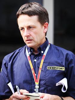 Ben Edwards, BBC TV Sunucusu