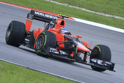 Charles Pic, Marussia F1 Team and Timo Glock, Marussia F1 Team