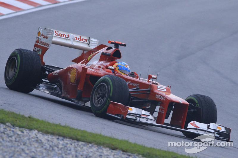 2012 - Фернандо Алонсо, Ferrari