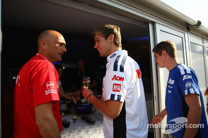 Gabriele Tarquini, SEAT Leon WTCC, Lukoil Racing Team and Tom Chilton, Ford Focus S2000 TC, Team Aon