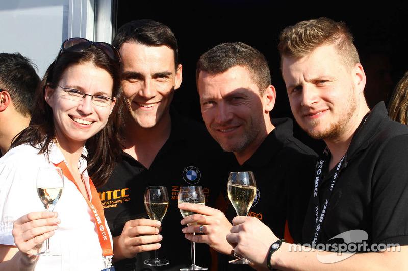 Norbert Michelisz, BMW 320 TC, Zenge Motorsport and Gabor Weber, BMW 320 TC, Zengo Motorsport
