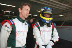Warren Hughes and Luca Moro