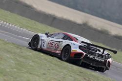 #2 Hexis Racing McLaren GT MP4-12C GT3: Grégoire Demoustier, Alvaro Parente