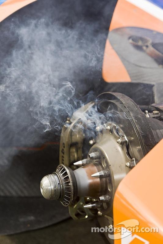 Smoking brakes