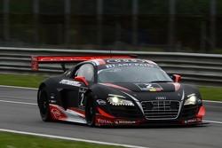 #2 Belgian Audi Club Team WRT Audi R8 LMS: ultra: Edward Sandstrom,  Laurens Vanthoor, Marco Bonanomi