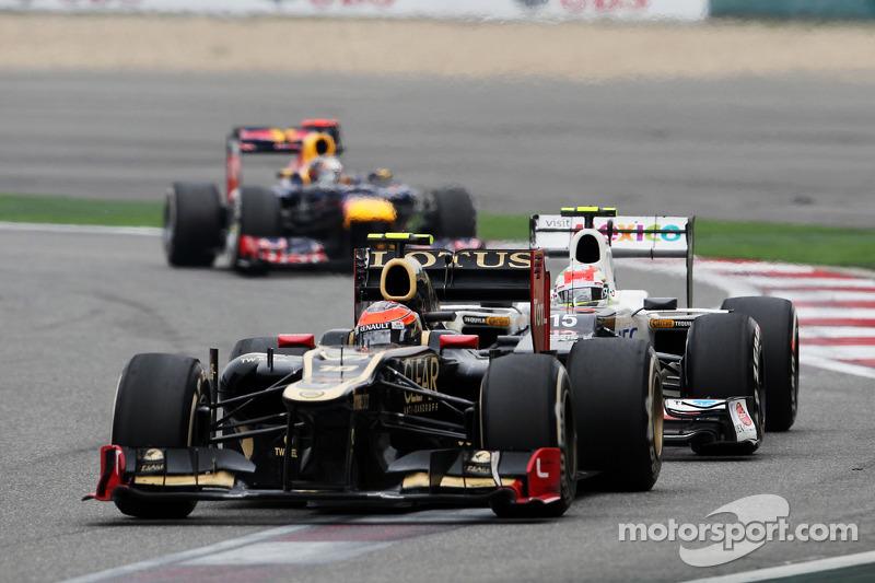 Romain Grosjean, Lotus F1 voor Sergio Perez, Sauber