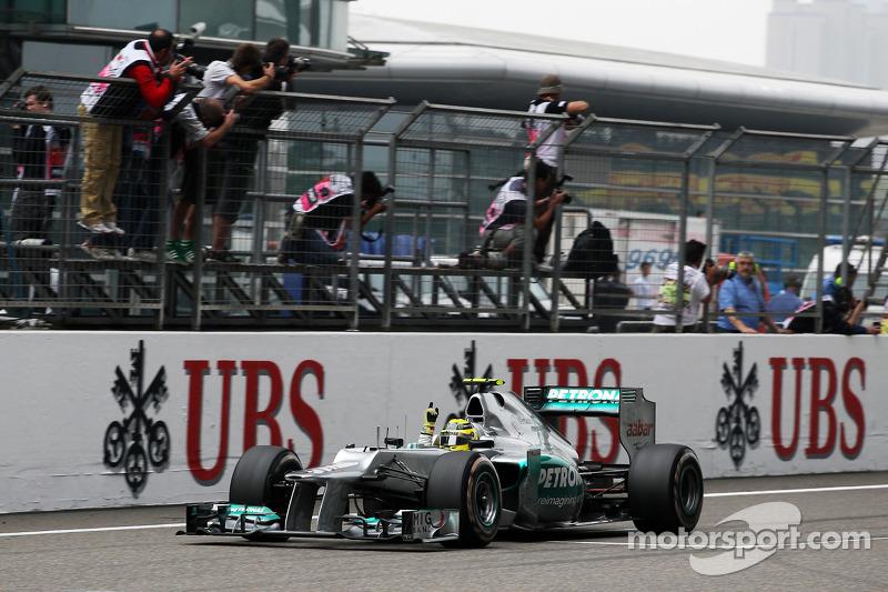 2012 : Nico Rosberg, Mercedes F1 W03