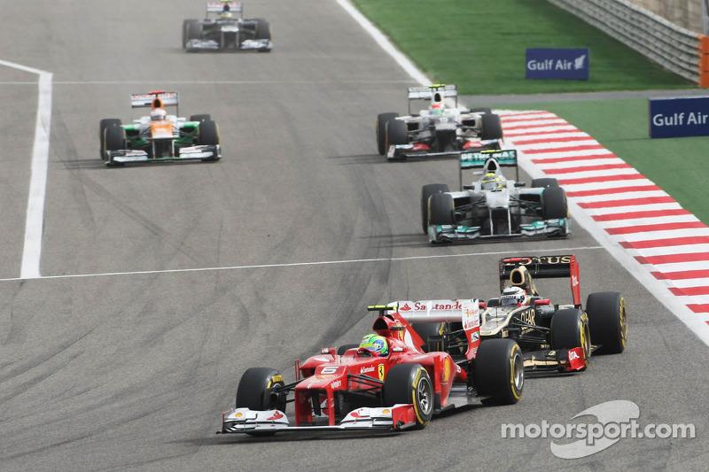 Felipe Massa, Ferrari voor Kimi Raikkonen, Lotus