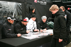 Markus Winkelhock, Marc Basseng,Thomas Jäger, Nicky Pastorelli