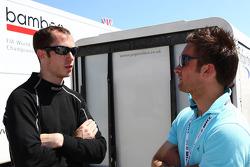 Alex MacDowall, Chevrolet Cruze 1.6T, bamboo-engineering and Colin Turkington (GBR)