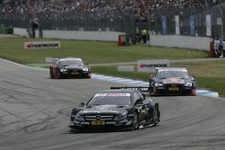 Gary Paffett, Team HWA AMG Mercedes, AMG Mercedes C-Coupe, Mattias Ekström, Audi Sport Team Abt Sportsline, Audi A5 DTM