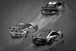 #69 AIM Autosport Team FXDD Racing with Ferrari Ferrari 458: Emil Assentato, Jeff Segal,#40 Dempsey Racing Mazda RX-8: Patrick Dempsey, Joe Foster, #51 APR Motorsport Audi R8 Grand-Am: Jim Norman, Dion von Moltke