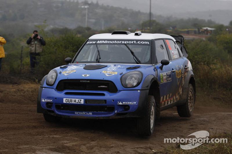 Eliseo Salazar en Marc Marti, Mini John Cooper Works WRC