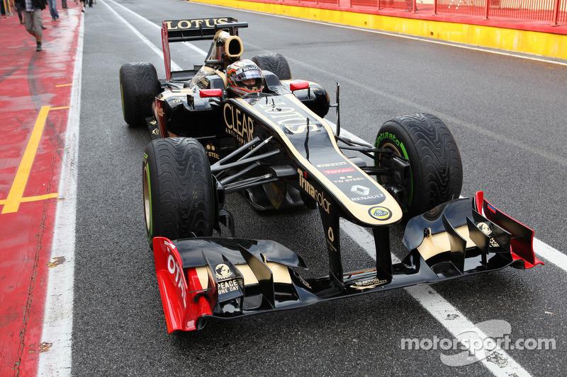 Jérôme d'Ambrosio, Lotus Renault F1 Team