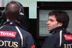Jérôme d'Ambrosio, third driver,  Lotus F1 Team
