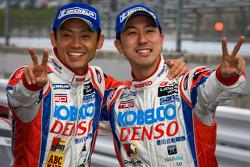 GT500 winners Juichi Wakisaka and Hiroaki Ishiura