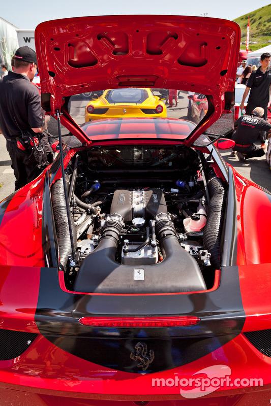 Ferrari 458 Challenge motor