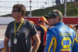 Michael Waltrip and Martin Truex Jr.