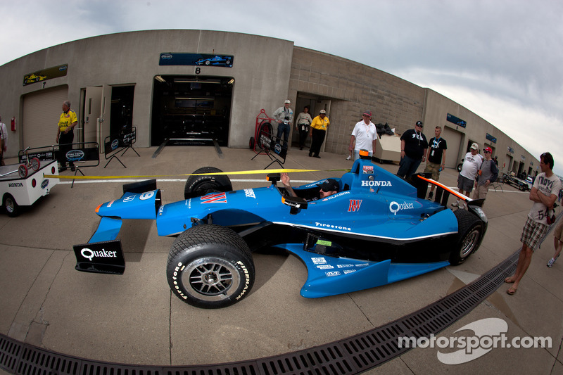 Car of Bryan Clauson, Sarah Fisher Hartman Racing Honda